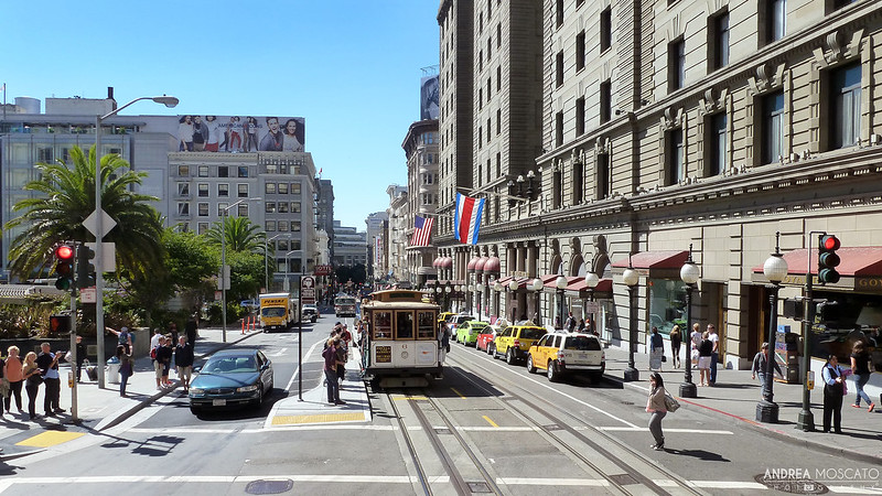 Powell Street, Union Square - San Francisco, California