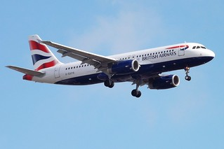 G-EUYS A320 British Airways | by markyharky