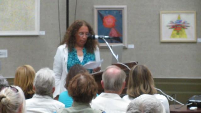 MVI_2695 SCAPE Randall Sexton talk Faulkner Gallery Cez intro