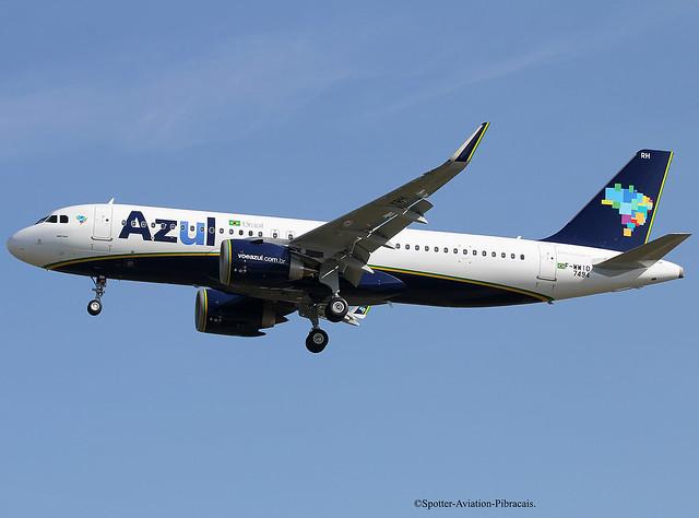 AZUL Linhas Aereas Brasileiras. Airbus A320 NEO.