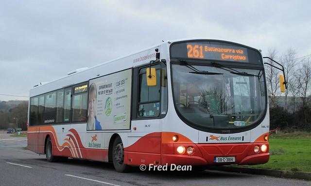 Bus Eireann VWL167 (08C3814).