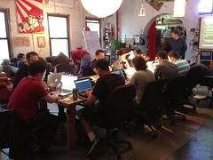 Pebble class at NYC Resistor