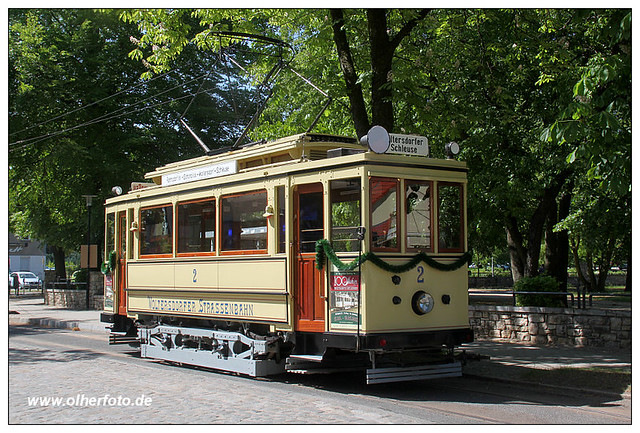 Woltersdorfer Straßenbahn - Tw 2
