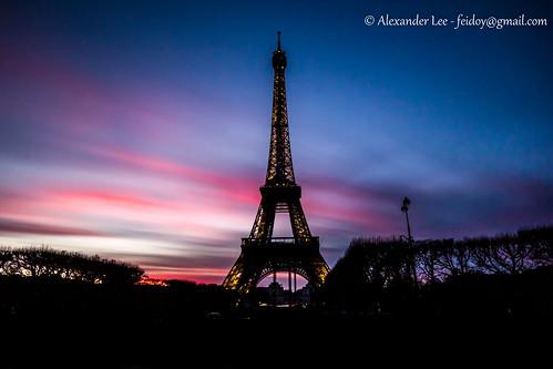 Paris Photo Walk - Eiffel Tower Sunset