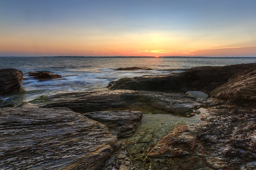 Beavertail State Park Seascape