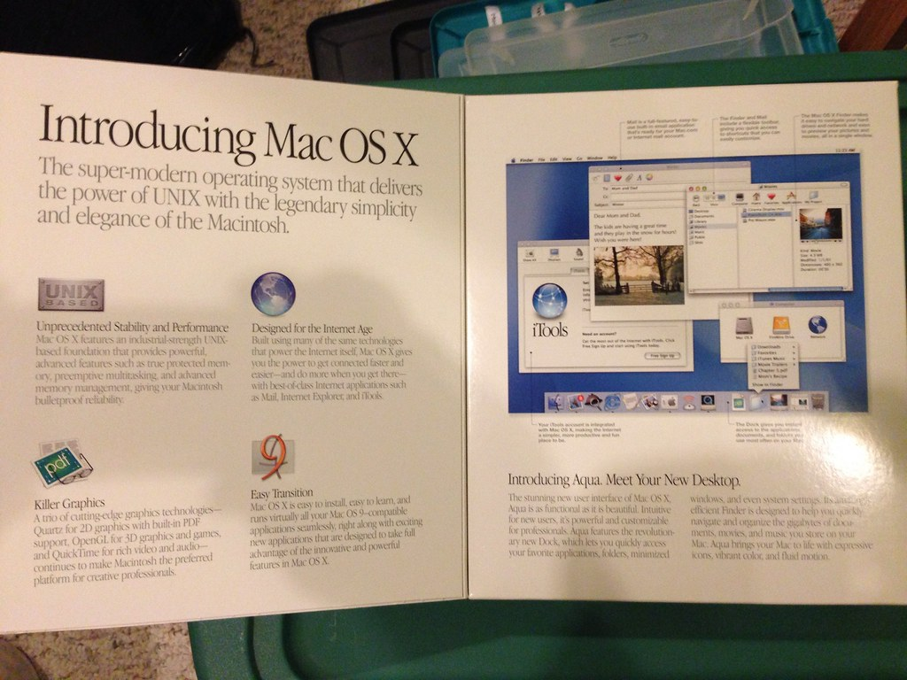 Original Mac OSX Packaging | Cole Camplese | Flickr