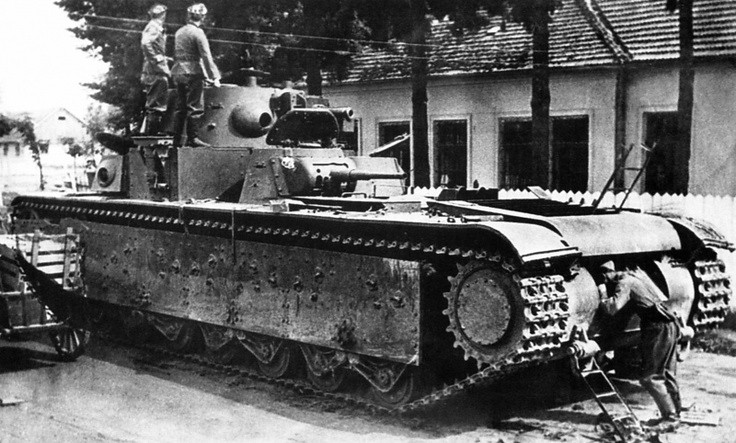 Важкий танк Т-35
