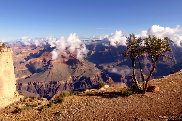 Trail Overlook to Hopi Point, Grand Canyon National Park - Arizona