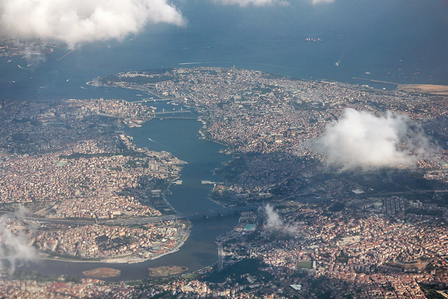 Aerial view of Istanbul 3