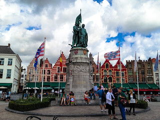 Eiermarkt, Bruges   by Andy Hay