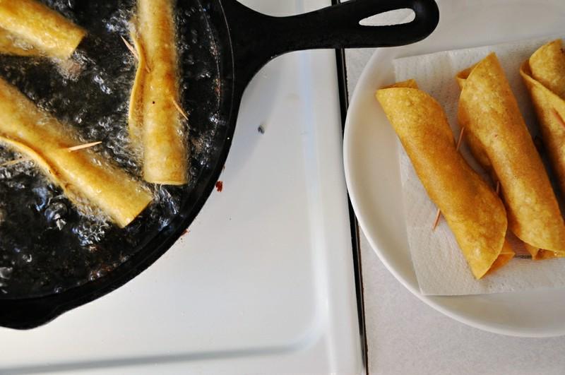 Pork Flautas