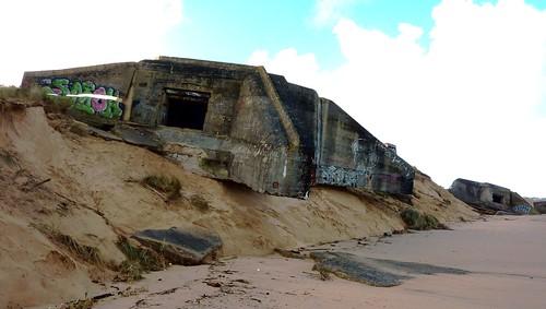 blockhaus, ile de ré, conche des baleines, 2 fevrier 2014