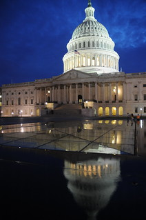 United States Capitol at night | by Guillaume Paumier