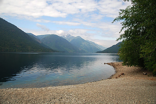 Taylor Arm Provincial Park, Sproat Lake, Vancouver Island, British Columbia, Canada