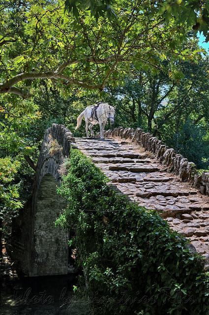 Πέτρινο γεφύρι Κλειδωνιάς Stone bridge of Klidonia