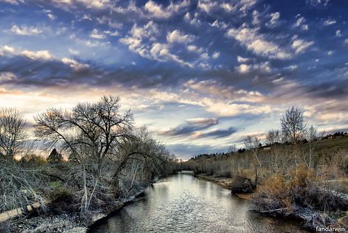 sunset river fan spring day first darwin olympus panasonic idaho boise vernal zuiko equinox 2014 918 uwa gf1 fandarwin