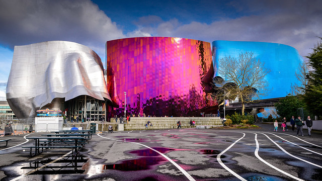 Museum of Popular Culture ( MoPop ) at Seattle Center