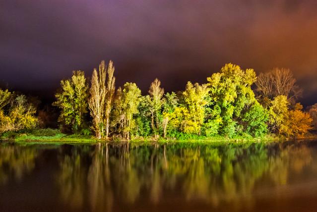 Night on the Dordogne