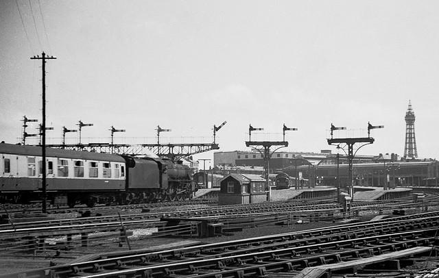 Blackpool North in Steam days