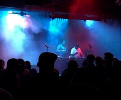 @itsDJSnuggles onstage at Amsterdam Bar and Hall in San Pablo, MN for #DevinTheDude - open a window... its HAZY in here...  @devindude420 #snugglife #soultools #amplifiedlife