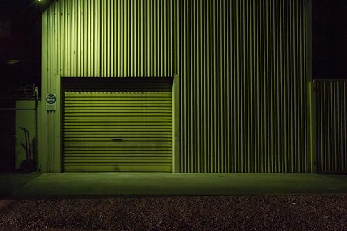 door shadow lines night canon industrial perth pancake 40mm f11 westernaustralia 600d