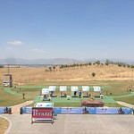 The finals section of the shotgun ranges