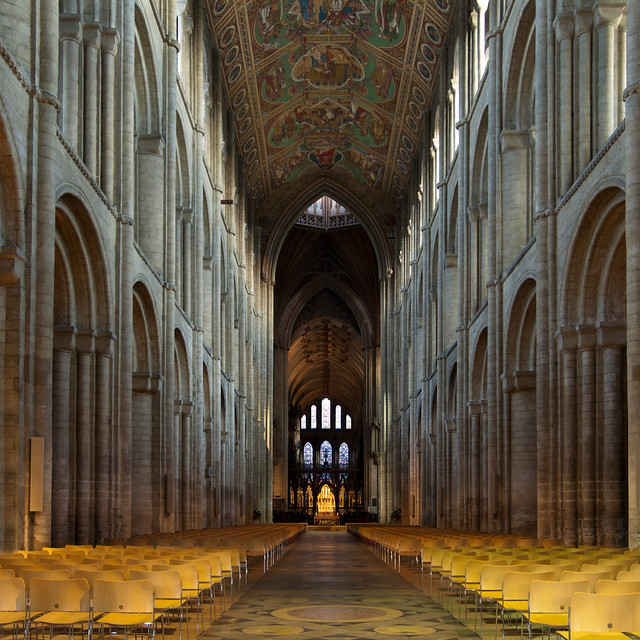 Ely Cathedral interior 3 UK