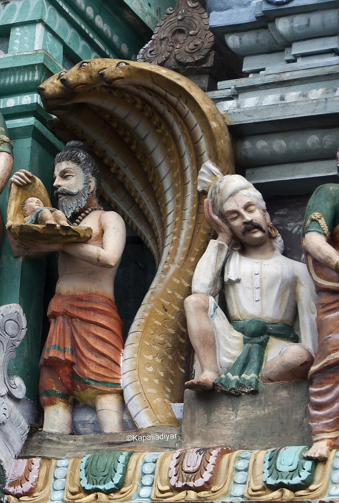 Janmashtami - The birth Of Lord Krishna  Krishna Carried b