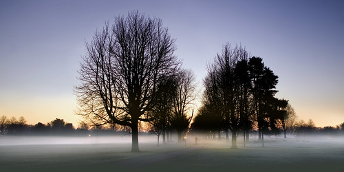 park uk morning trees mist tree wales sunrise dawn interestingness britain cymru explore caerdydd flare llandaff pontcanna canoneos5d explored wentloog stevegarrington