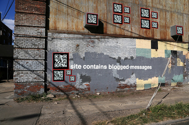 Site contains blogged messages - NATRO NYC