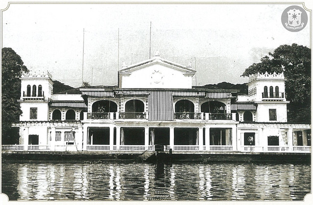 The Pasig River facade as completed in 1940.