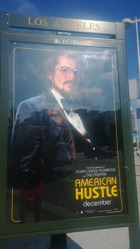 Googly eyes American Hustle Poster