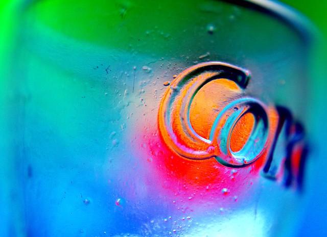 Color Experiment: Glass + Light  #219