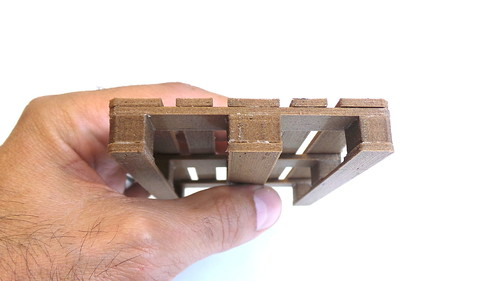 10 - 3D-printed EUR pallet (scale model) | by Creative Tools