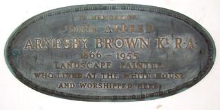 John Alfred Arnesby Brown Kt RA, landscape painter