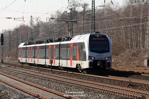 Abellio Rail NRW GmbH ET 25 2208 als RB40 nach Hagen Hbf, Bochum Ehrenfeld 14.02.2017 | by bahnfreakandi