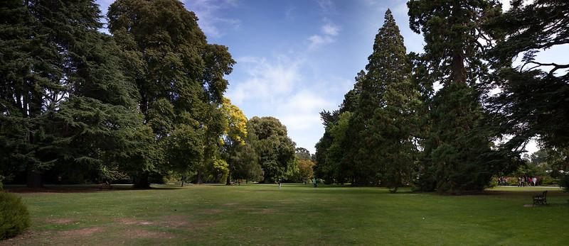 Christchurch park and botanical garden, Canterbury, New Zealand