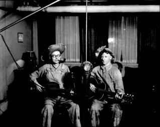N_53_16_2443 Hillillles at Radio Station WPTF Probably 1929 'Hiram and Ezry' | by State Archives of North Carolina