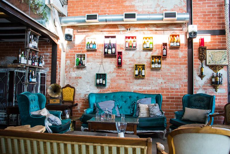 Restaurant (Vestigius) interior