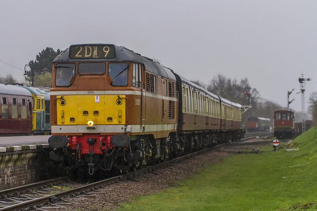 Class 31 No. D5830 at Quorn and Woodhouse