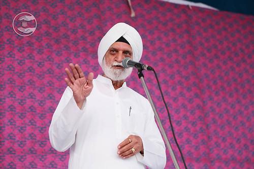 Surjit Singh Nashila from Moti Bagh, Delhi, expresses his views