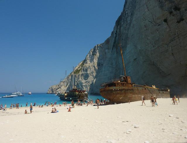 Zante - Panagiotis Ship Wreck at Smugglers Cove