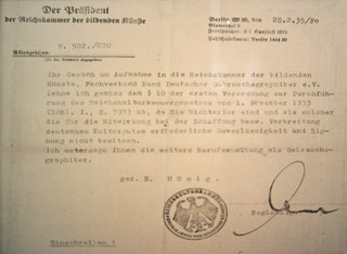 Letter to Berthold Wolpe, February 1935 (translation help, please!)