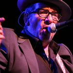 Mon, 16/09/2013 - 10:36pm - On the eve of the release of their collaboration, Elvis Costello and The Roots meet in Brooklyn to tear the place up. Photo by Laura Fedele