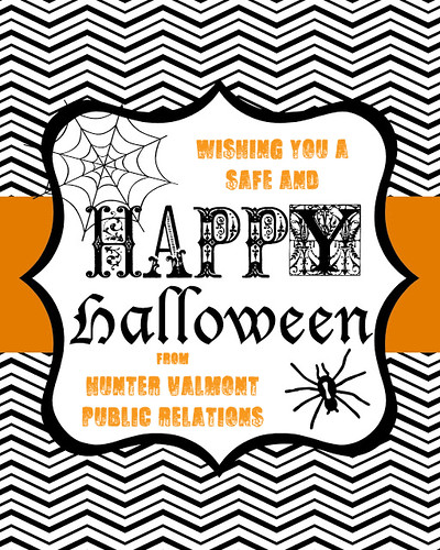 Happy Halloween HVPR | by Hunter Valmont Public Relations
