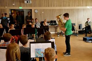 Lilla Brassbandfestivalen 2013 - Albert Kvarnvik i solisttävlingen