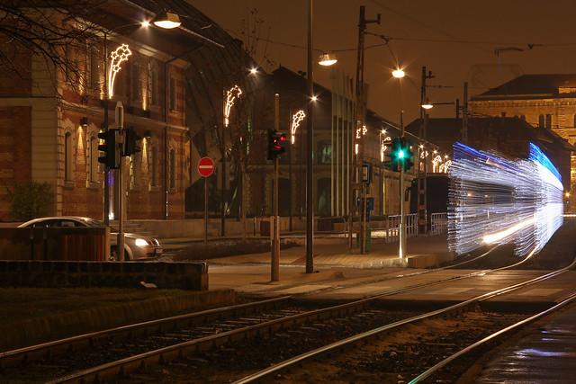 Christmas tram in Budapest 27