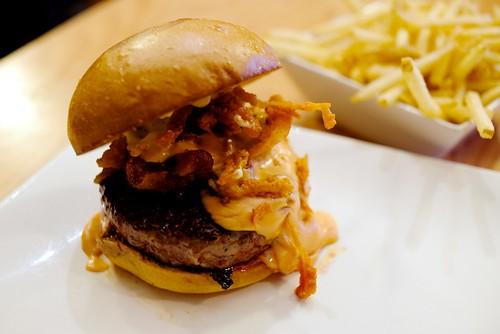 Manly Burger at Umami Burger, Palo Alto | by Jun Seita