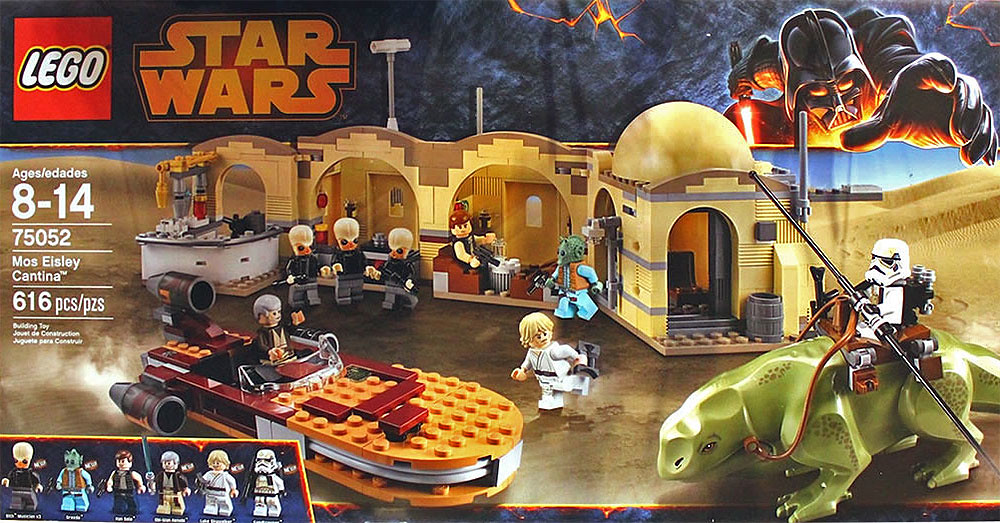 Lego Star Wars 75052 Mos Eisley Cantina Pieces 616 Pric Flickr