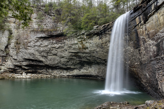 Foster Falls 2, Little Gizzard Creek, South Cumberland State Park, Marion County, Tennessee